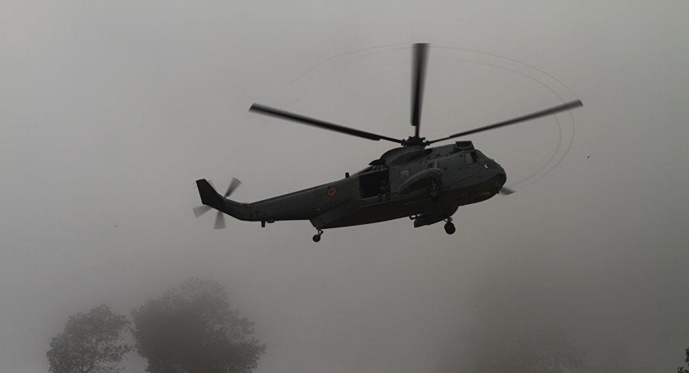 Un helicóptero español (imagen referencial)