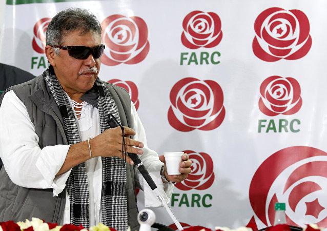Jesús Santrich, dirigente del partido político FARC