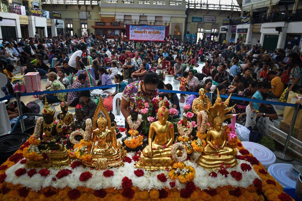 Celebración a lo grande: el Año Nuevo llega a Tailandia