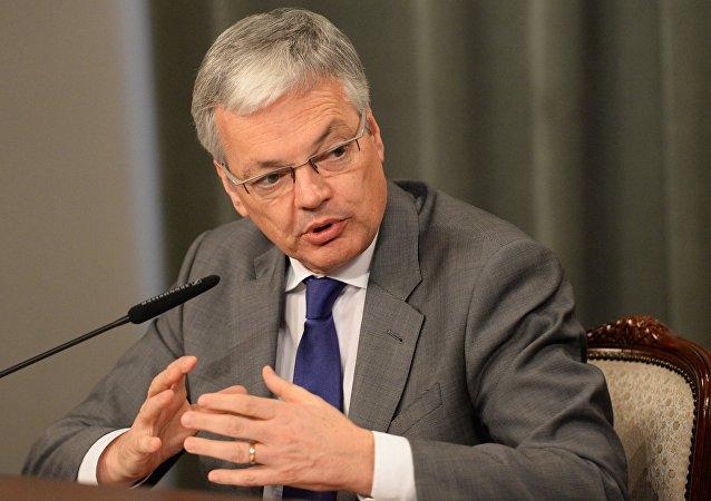 Didier Reynders, el ministro de Asuntos Exteriores de Bélgica