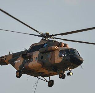 Un helicóptero ruso Mi-17V5