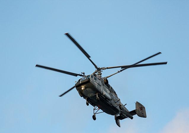 Un helicóptero ruso Ka-29 (imagen referencial)