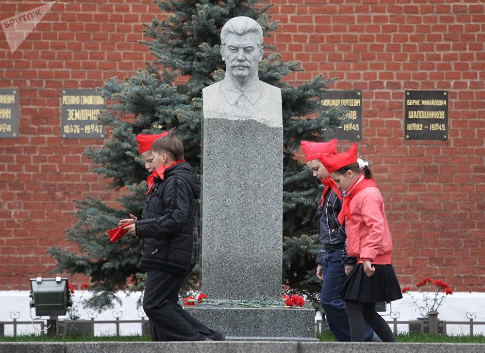 La tumba de Iósif Stalin
