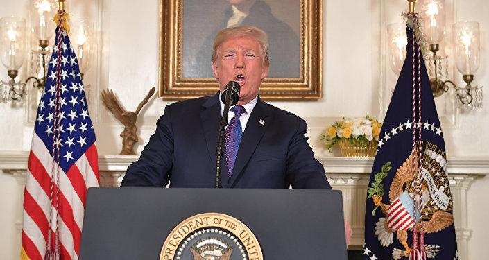 Donald Trump, persidente de EEUU