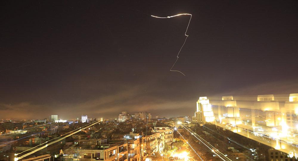 El bombardeo de EEUU en Damasco