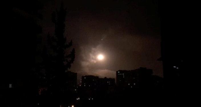 Ataque aéreo de EEUU, Reino Unido y Francia contra Damasco (archivo)