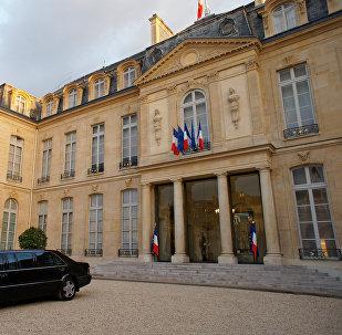 Palacio del Elíseo en París
