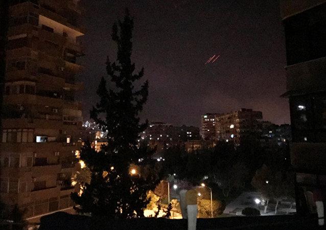 Ataque de EEUU y sus aliados contra Damasco