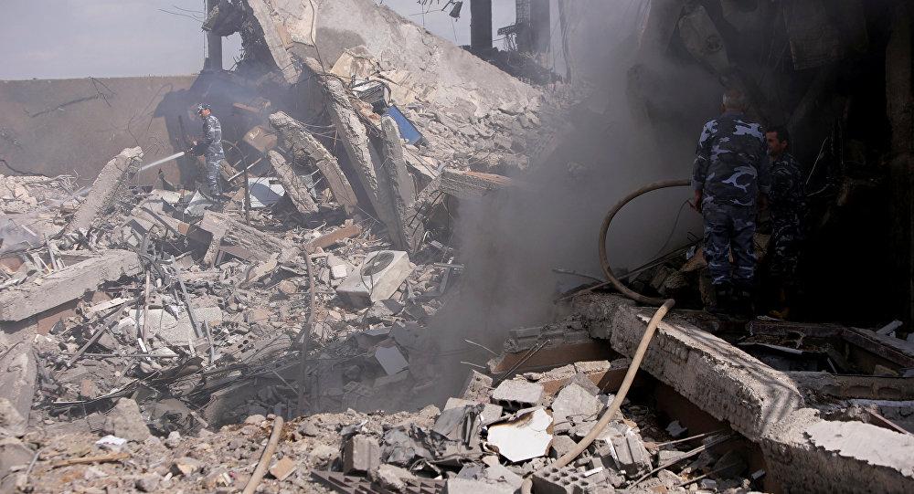 Rusia acusa a Reino Unido de montaje de ataque químico en Siria
