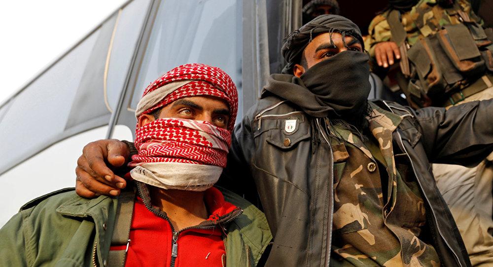 Los combatientes de la oposición siria