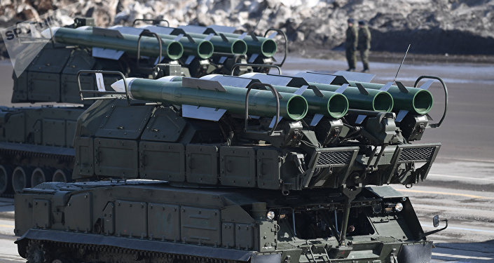 Sistema de misiles antiaéreos Buk-M2