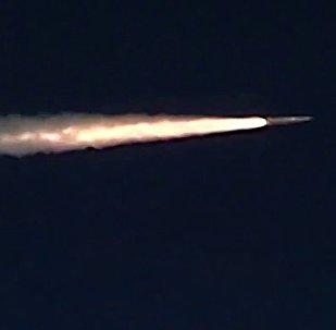 El lanzamiento de un misil ruso (imagen ilustrativa)