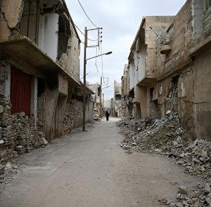 La ciudad siria de Duma (archivo)