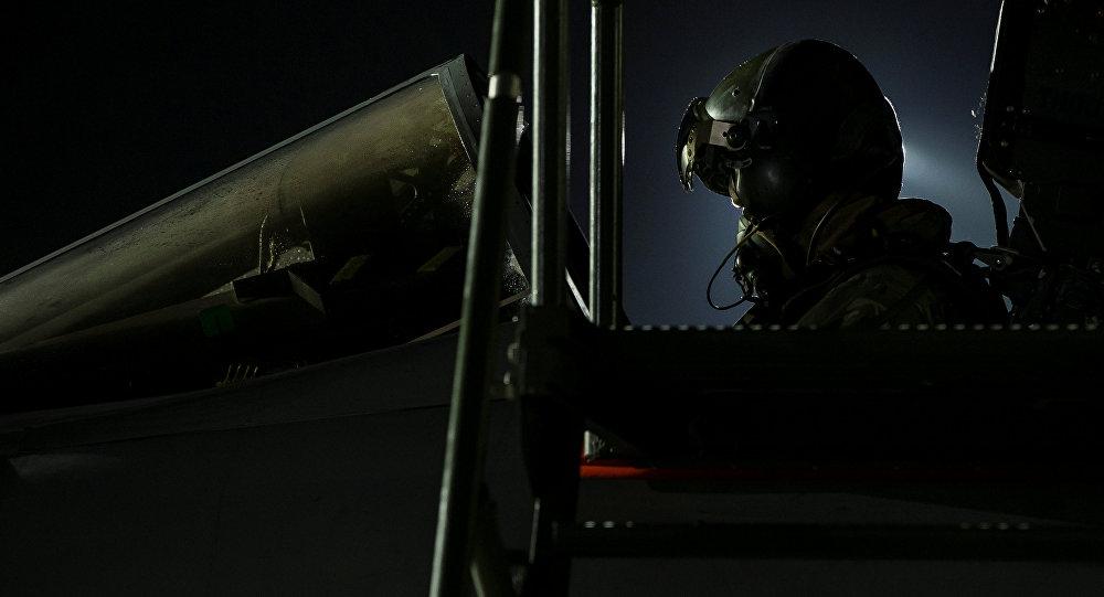 Un piloto británico (imagen referencial)