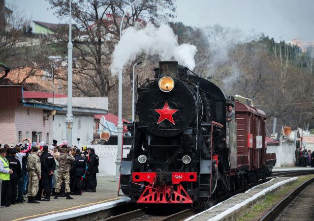 El Tren de la Victoria: Crimea celebra su liberación de los invasores nazis