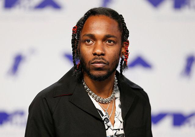 Kendrick Lamar, rapero estadounidense
