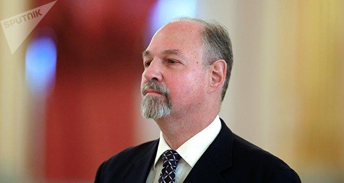 Ricardo Ernesto Lagorio, embajador de Argentina en Rusia