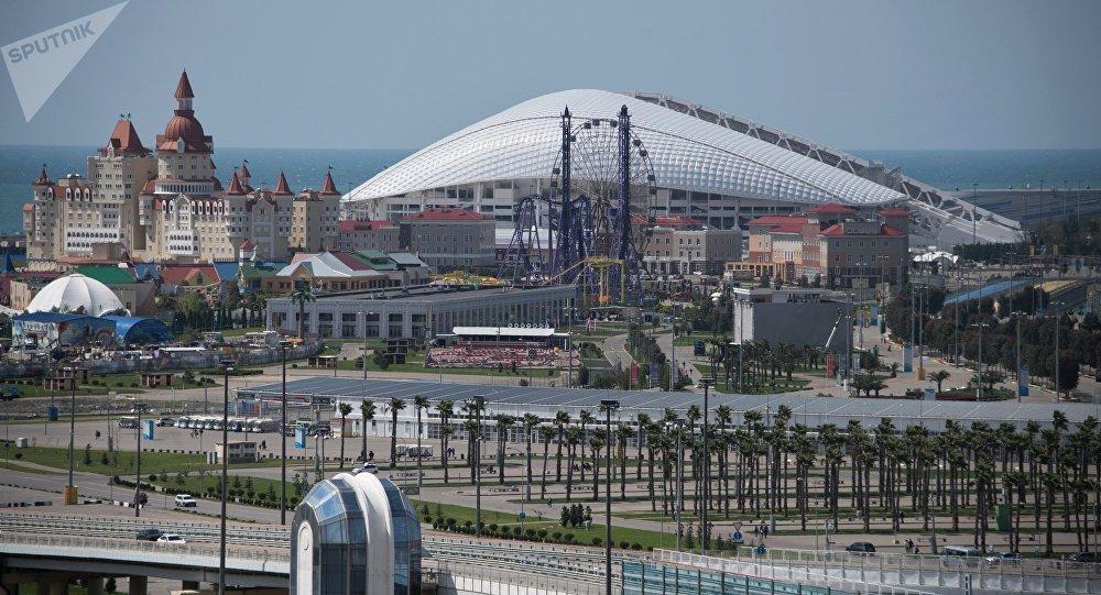 La ciudad rusa de Sochi