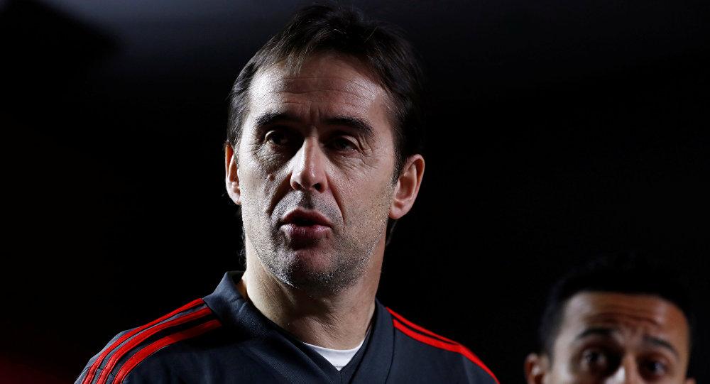 Julien Lopetegui, el entrenador de la selección española de fútbol