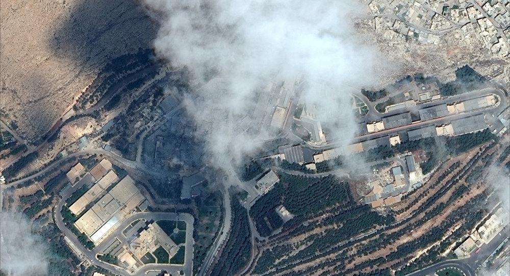 Ataque de EEUU a las instalaciones de Siria