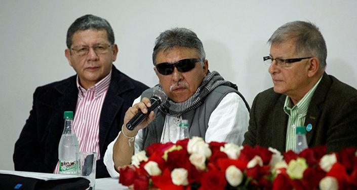 Jesús Santrich, dirigente del partido político FARC (archivo)