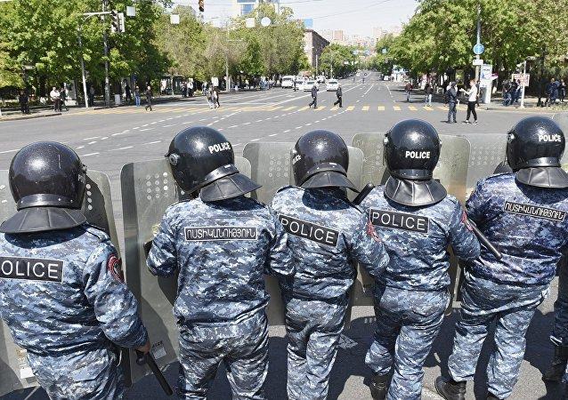 Protestas en Ereván, Armenia
