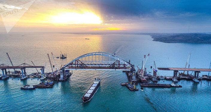 Putin inaugura puente Kerch en Crimea