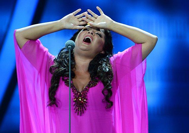 Anna Netrebko, cantante de ópera rusa