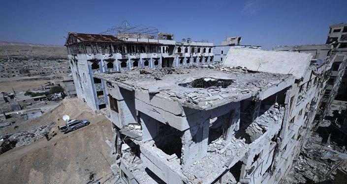 Situación en Duma, Siria