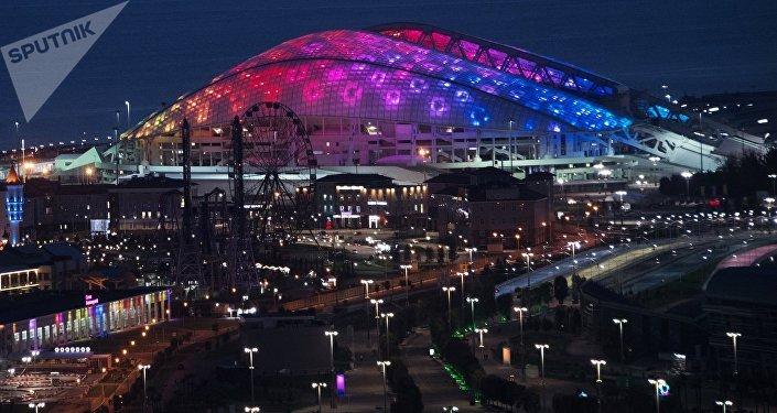 Estadio Fisht en Sochi, Rusia