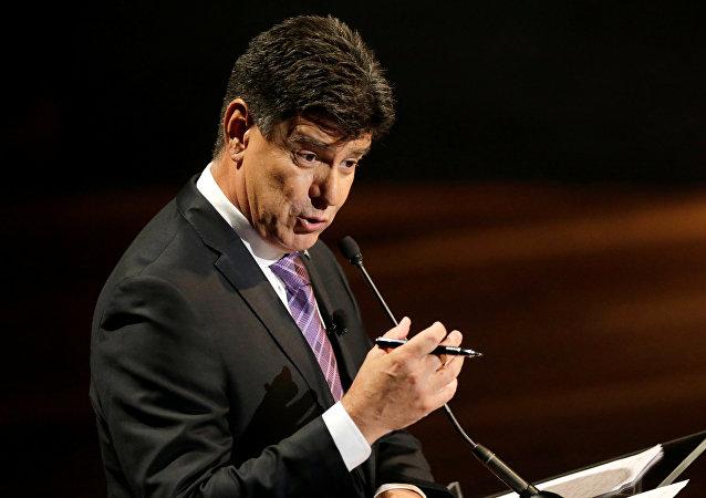 Efraín Alegre, el candidato presidencial paraguayo por la Gran Alianza Nacional Renovada