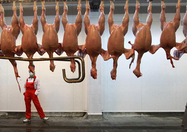Carne de pollo (Archivo)