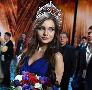 Esta joven estudiante representará a Rusia en Miss Mundo y Miss Universo
