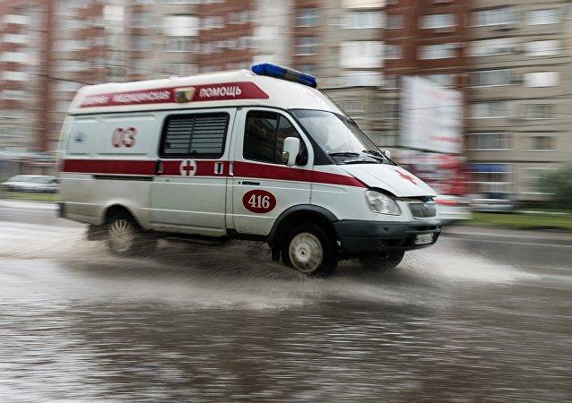 La ambulancia rusa