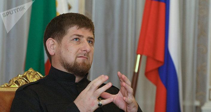 El líder de la república rusa de Chechenia, Ramzán Kadírov