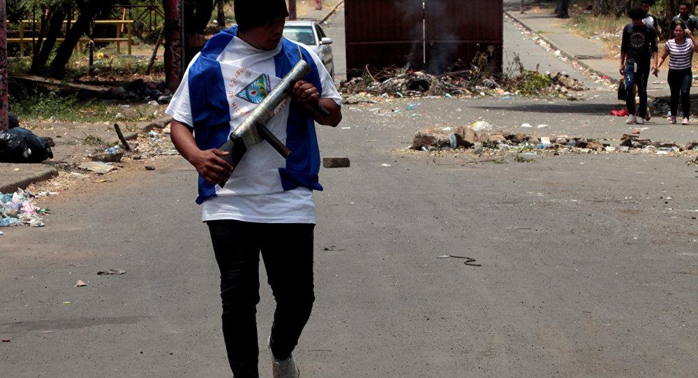 Protestas en Managua, Nicaragua