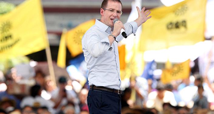 Ricardo Anaya, candidato presidencial de México