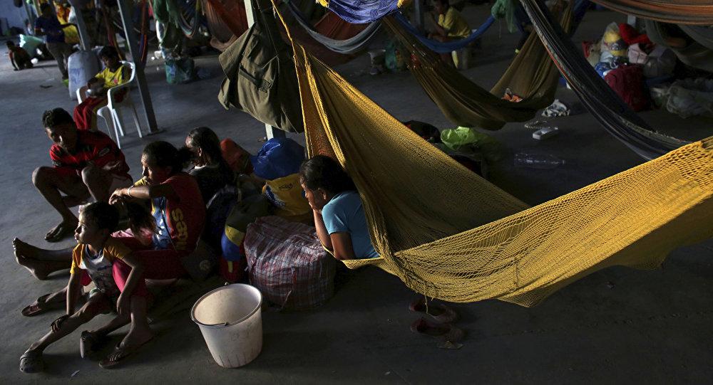 Refugiados venezolanos (archivo)