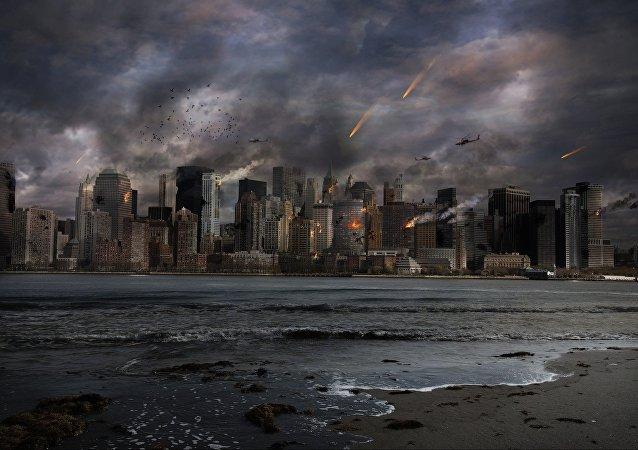 Una ciudad en guerra (imagen referencial)