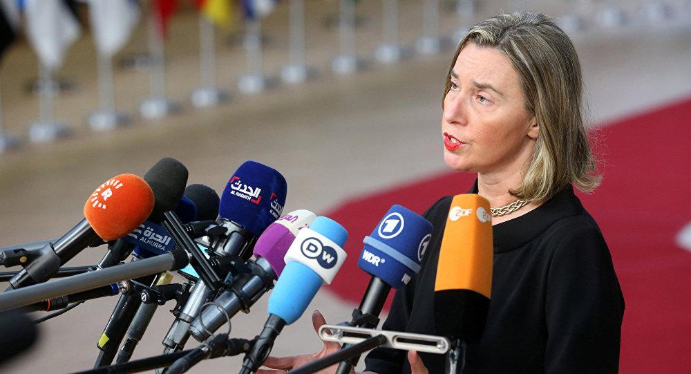 Federica Mogherini, la jefa de la diplomacia europea