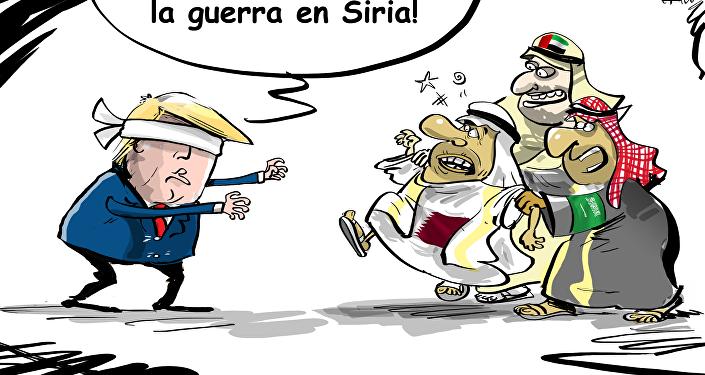 ¡Listos o no, allá voy! ¿Quién pagará por la guerra siria?