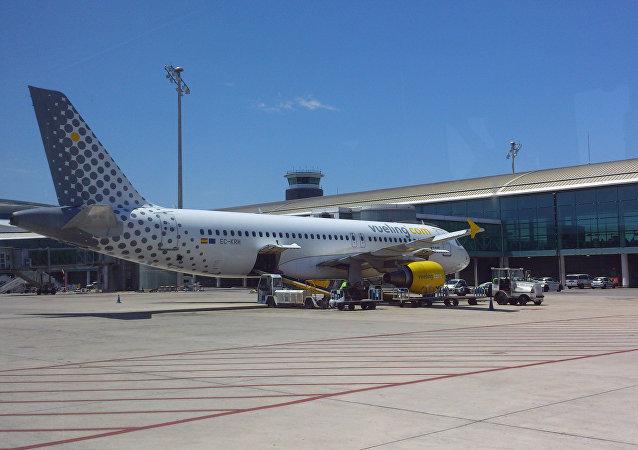 Un avión de la compañía española (archivo)