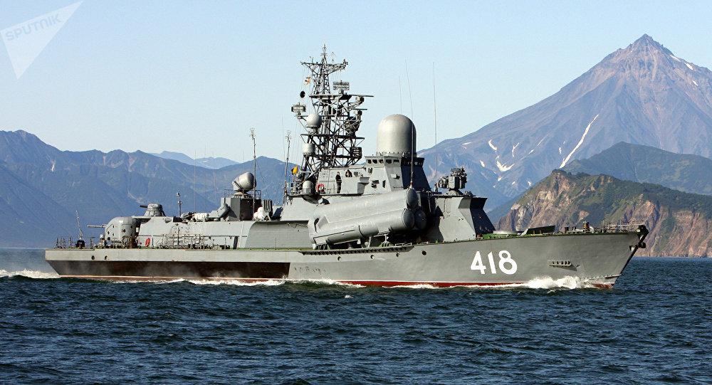 Maniobras de la Flota del Pacífico de Rusia (archivo)