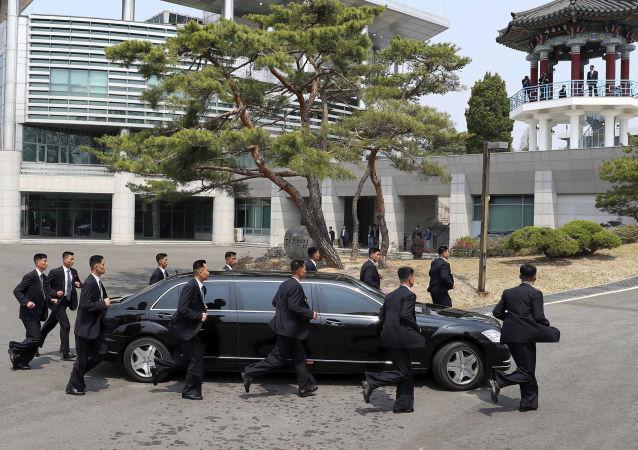 Limusina de Kim Jong-un