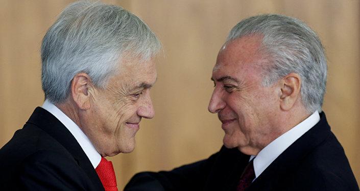 Presidente de Chile visita Costa Rica en gira por Centroamérica