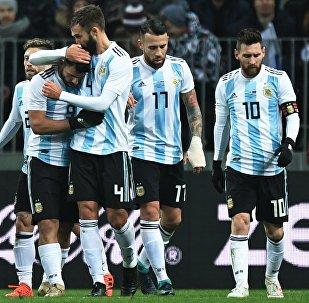 La selección de fútbol de Argentina