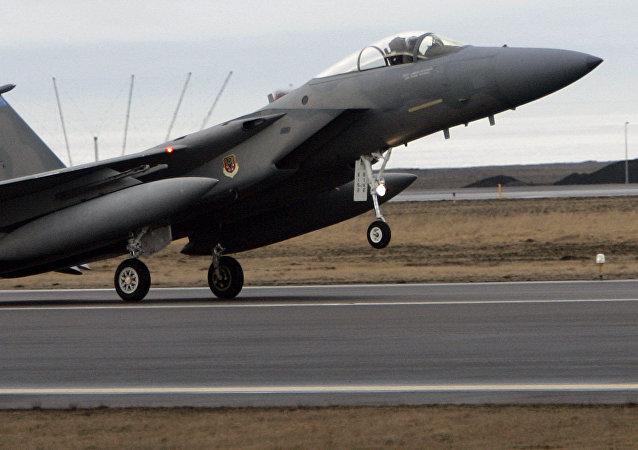 F15 en la base de EEUU en Keflavik (archivo, 2006)
