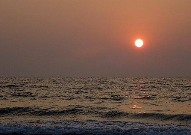 El mar Arábigo