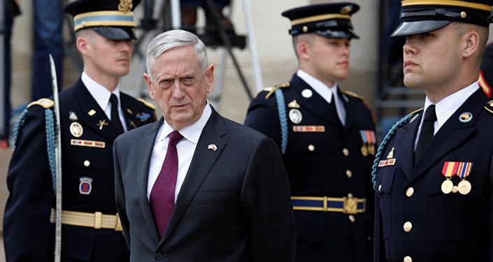 James Mattis, secretario de Defensa de EEUU