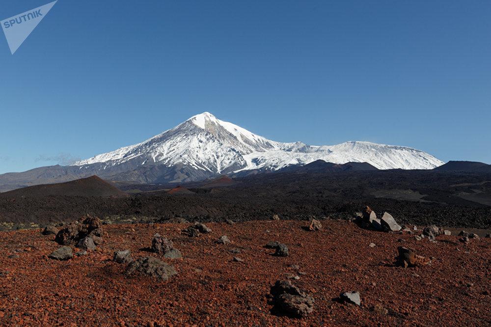 El volcán Tolbachik en Kamchatka